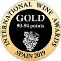 Internation Wine Awards spain 2019 GOLD