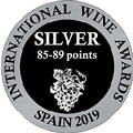 Internation Wine Awards spain 2019 SILVER