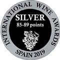 Internation Wine Awards spain 2019 SILVER